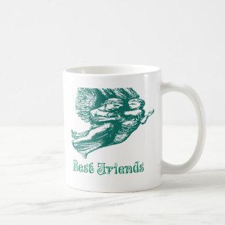 Best Friends Angels Coffee Mug