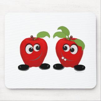 Best Friends Apples Mouse Pad