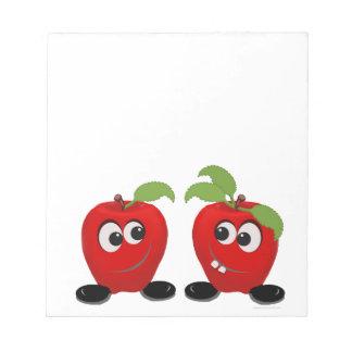 Best Friends Apples Notepad