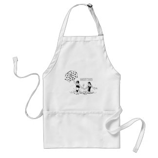 Best Friends at the Beach Aprons