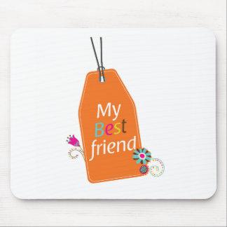 Best Friends BFF desgin Mouse Pad