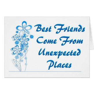 Best Friends Blank Card