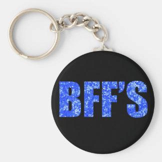 Best Friends Blue Keychain
