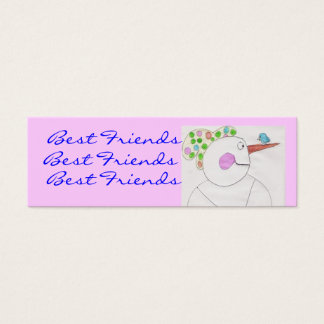 Best friends Bookmarks... Mini Business Card