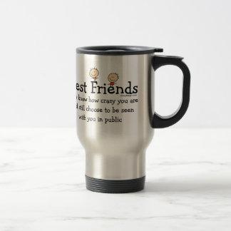 Best Friends (both sides) Travel Mug