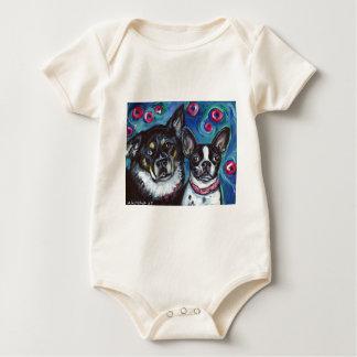 Best Friends Bruno & Fergie Baby Bodysuit