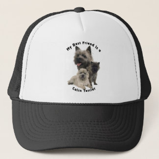 Best Friends Cairn Terrier Trucker Hat