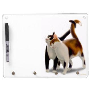 Best Friends Cats Dry Erase Board