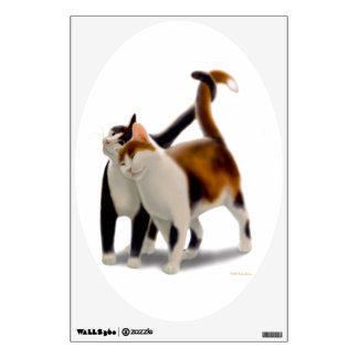 Best Friends Cats Wall Decal