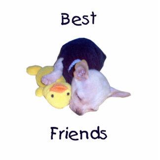 best friends (chihuahua) statuette