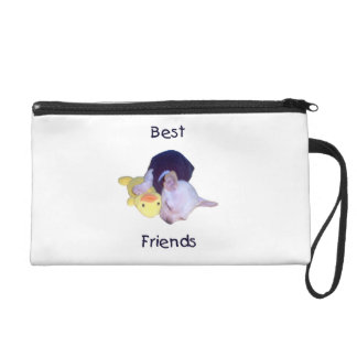 best friends (chihuahua) wristlet purse