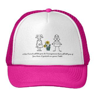 Best Friends Collection Transparent Trucker Hat