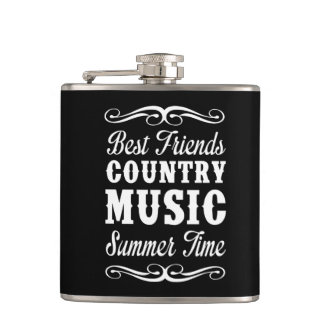 Best Friends, Country Music, Summer Time Flask