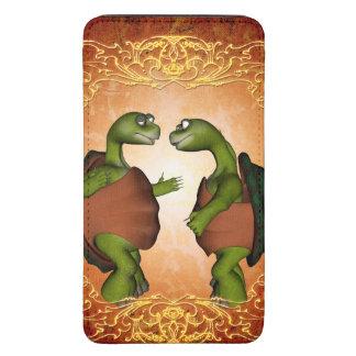 Best friends, cute turtles galaxy s5 pouch
