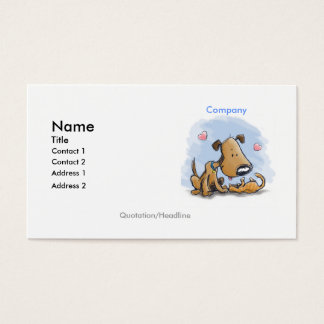 Best Friends Dog and Cat Business Card