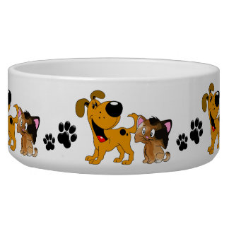 Best Friends Dog Bowl