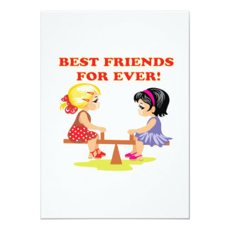 Best Friends For Ever Card