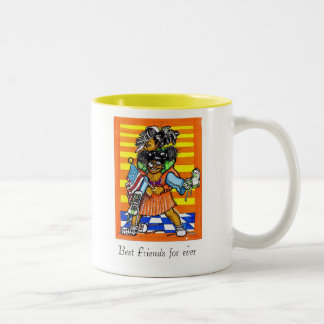 Best Friends for ever Coffee Mugs