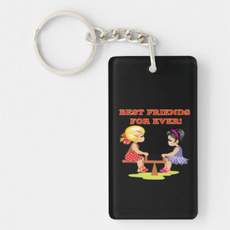 Best Friends For Ever Keychain