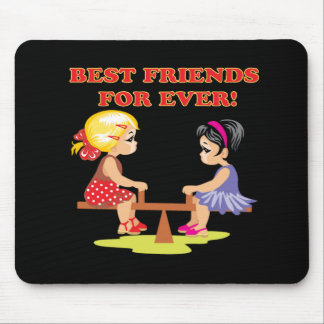 Best Friends For Ever Mouse Pad