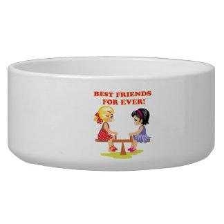 Best Friends For Ever Dog Food Bowls
