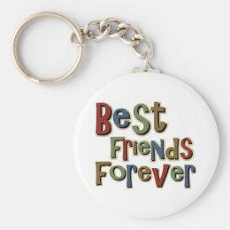 Best Friends Forerver Keychain