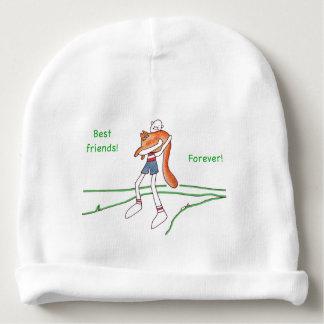 Best Friends Forever Baby Beanie Cap - Customizabl