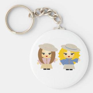 Best Friends Forever Basic Round Button Keychain