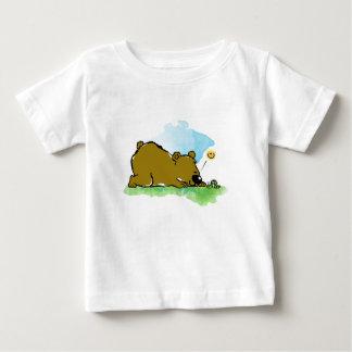Best Friends Forever - Bear and Caterpilar Baby T-Shirt