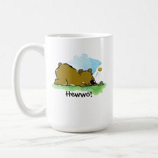 Best Friends Forever - Bear and Caterpilar Coffee Mug