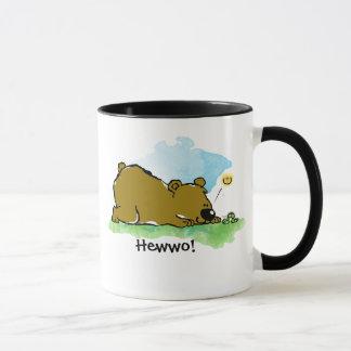 Best Friends Forever - Bear and Caterpilar Mug