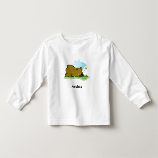 Best Friends Forever - Bear and Caterpilar Toddler T-shirt