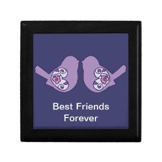 Best Friends Forever, BFF Cute Love Birds Jewelry Box