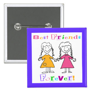 Best Friends Forever BFF Gifts Button