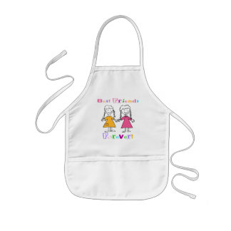 Best Friends Forever BFF Gifts Kids' Apron
