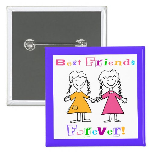 Best Friends Forever BFF Gifts Pin