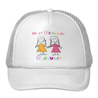 Best Friends Forever BFF Gifts Trucker Hat