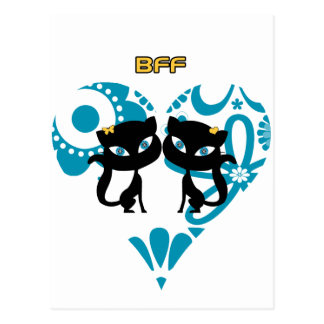Best Friends Forever (BFF) Postcard