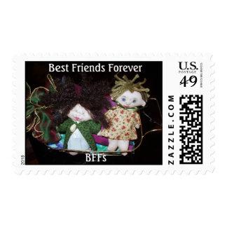 Best Friends Forever - BFFs Postage Stamp