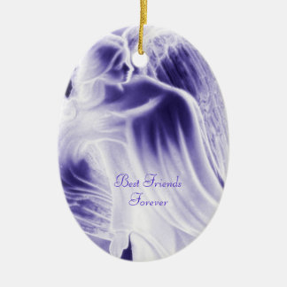 Best Friends Forever Blue Angel - Ornament