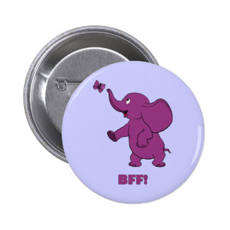 Best Friends Forever Pinback Buttons
