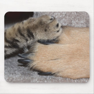Best Friends Forever by Shirley Taylor Mouse Pad