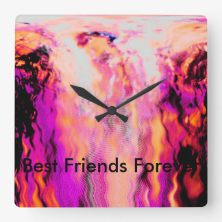 Best Friends Forever Clock