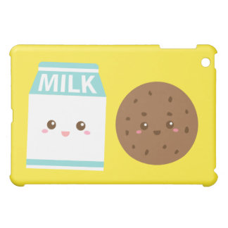 Best Friends Forever, Cute Milk and Cookies iPad Mini Cases