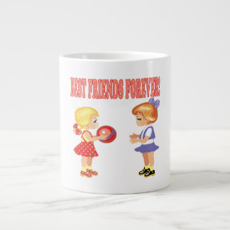 Best Friends Forever Large Coffee Mug