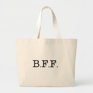 Best Friends Forever Large Tote Bag