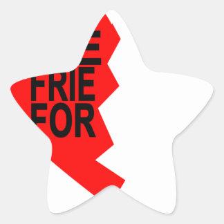 best friends forever left heart side T-Shirts.png Star Sticker