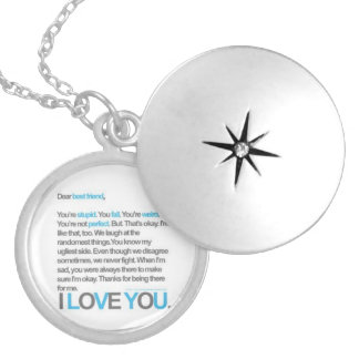 Best Friends forever Locket Necklace