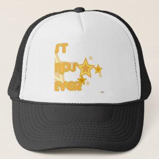 Best Friends Forever Orange Yellow Stars Part 2 Trucker Hat