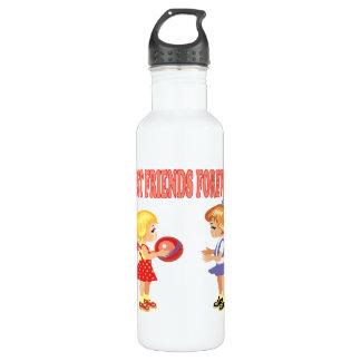 Best Friends Forever 24oz Water Bottle